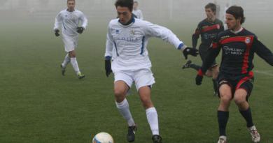 Nicolò Barzan in azione