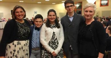 La famiglia di Marco Boscolo Camiletto