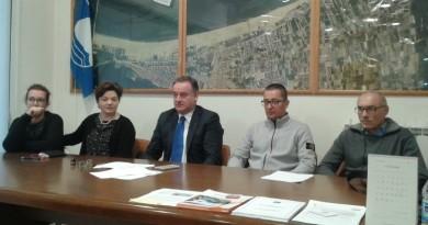 Un momento della conferenza stampa del consorzio ConChioggiaSì