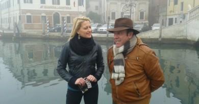 Mirco Renier intervistato da Francesca Pinelli (foto chioggianews24)
