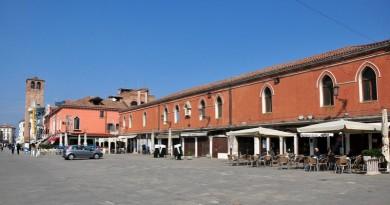 Una veduta dell'antico Palazzo Granaio