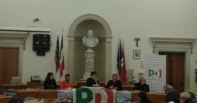 Un momento dei lavori del convegno Pd sulla Romea