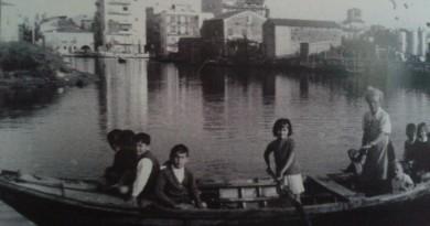 Nella foto Carmen Baldo in barca con i suoi ragazzi