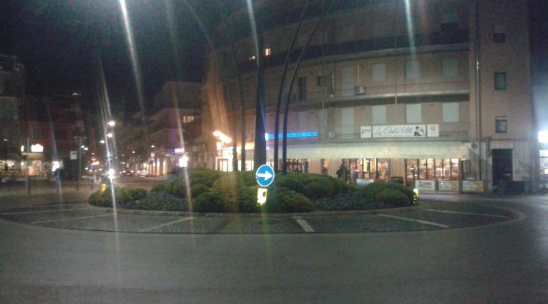 La rotonda di Piazzale Italia