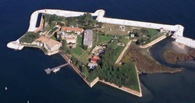 Vista aerea di Forte San Felice