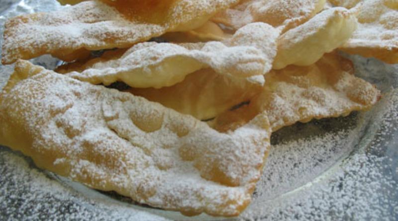 I galani dolce tipico chioggiotto di carnevale
