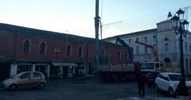 I lavori a Palazzo Granaio