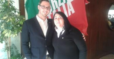 Vincenzo Boscolo Bachetto e Serena De Perini (foto chioggianews24)