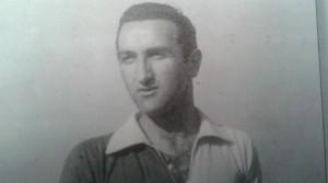 Romolo Camuffo con la maglia del Clodia
