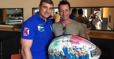 Andrea Tiozzo con Angelo Peruzzi