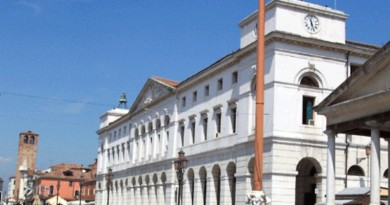 Il municipio di Chioggia
