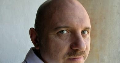Lo scrittore Tiziano Scarpa