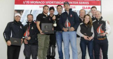 Enrico Zennaro, al centro nella foto con la bottiglia in mano, durante le premiazioni a Monaco.