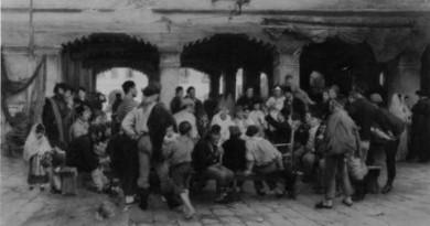 Riunione di pescatori a Palazzo Granaio