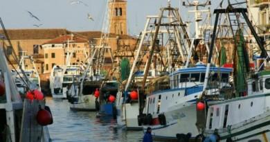 Pescherecci in canal San Domenico