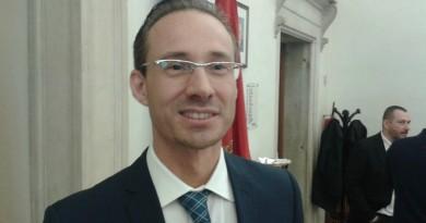 Il candidato sindaco del M5S, Alessandro Ferro