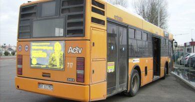 Un autobus Actv