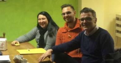 Da sinistra Serena De Perini, Vincenzo Boscolo e Beniamino Boscolo