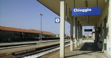 La stazione ferroviaria di Chioggia
