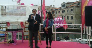 Luigi Brugnaro con Marcellina Segantin