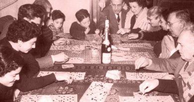Il gioco della tombola in famiglia