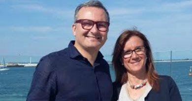 Il viceministro all'Economia Enrico Zanetti con Barbara Penzo