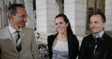 Alessandro Ferro, Erika Baldin e Gilberto Boscolo