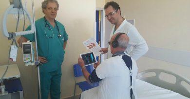 Il primario Roberto Valle ed il dr. Gabriele Boscolo