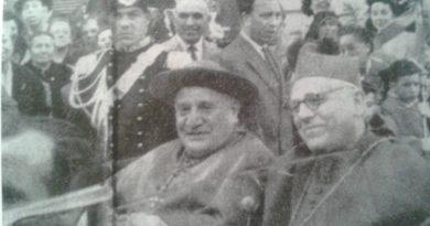 11 giugno 1955: il card. Roncalli, futuro papa Giovanni XXIII, a Chioggia per i Santi