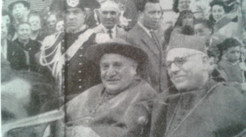 Il card. Roncalli assieme al vescovo Piasentini