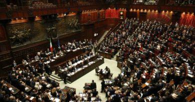 Vista panoramica della Camera dei deputati