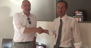 Da sinistra il sindaco di Cona, Alberto Panfilio ed il sindaco di Chioggia, Alessandro Ferro