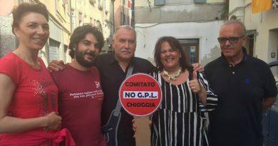 """L'A.N.P.I. di Chioggia con il comitato """"No GPL"""""""