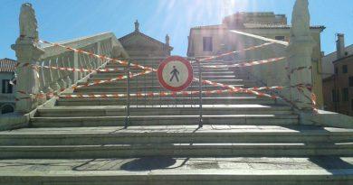 Il ponte di Vigo chiuso