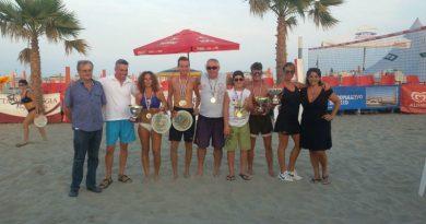 Il gruppo dei vincitori