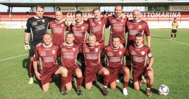 La squadra che ha tributato l'addio al calcio giocato di Emanuel Rizzi.