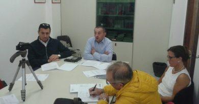 La conferenza stampa del segretario Pd Antonio Duse