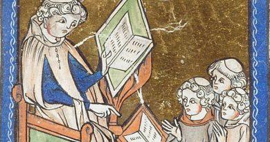 Lezioni scolastiche nel medioevo