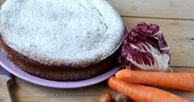 La Ciosota, torta tipica a base di radicchio e carote