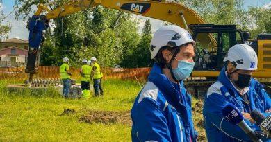 Terna: via alla demolizione delle basi dei tralicci della linea aerea Dolo-Camin