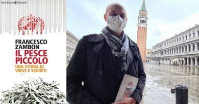 """Francesco Zambon presenta il suo libro """"Il Pesce Piccolo"""" sabato a Palazzo Grassi"""