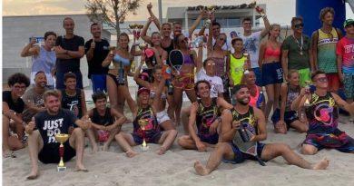Domenica di Beach Tennis In Diga a Sottomarina