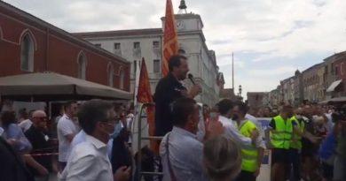 Salvini a Chioggia: Qui servono strade nuove