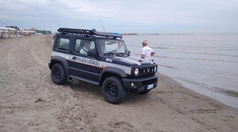 Altri sequestri in spiaggia, multata una signora svizzera