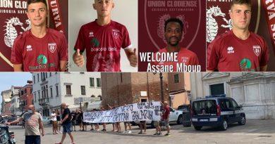 L'Union Clodiense prende Mboup, ma perde Ballarin