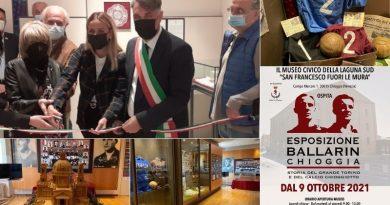Inaugurata la mostra sui fratelli Ballarin ed il Grande Torino